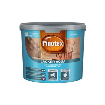 Лак Pinotex Lacker Aqua 10 на водной основе для мебели и стен матовый 2,7 л