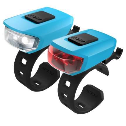 Комплект велосипедных фонарей Kellys Vega бирюзовый