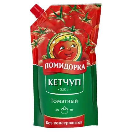 Кетчуп Помидорка Томатный 350 г