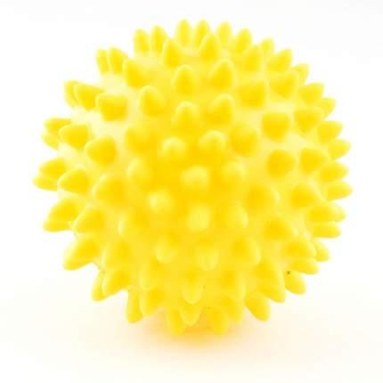 Мяч массажный Palmon, желтый, 8 см