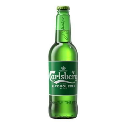 Пиво безалкогольное Carlsberg ячменное светлое 0,45 л