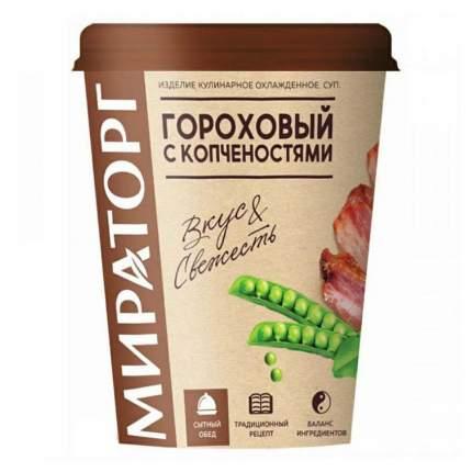 Суп Мираторг гороховый с копченостями 360 г