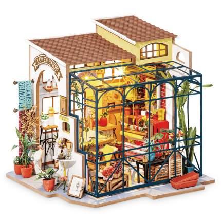 Румбокс. Набор для создания миниатюры ТМ Цветной Цветочный магазин DG145