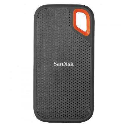 Внешний диск SSD SanDisk ExtremePortable 500GB Gr/Or(SDSSDE61-500G-G25)