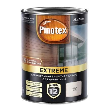 Защитная лазурь Pinotex Extreme сверхпрочная с эффектом самоочистки белая 0,9 л