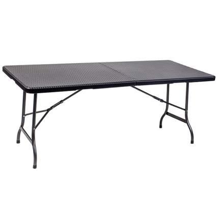 Стол для дачи Crusoe Camp CT180 black 180x75x72 см