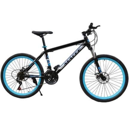 """Велосипед Массе 24 2019 16"""" черный/синий"""