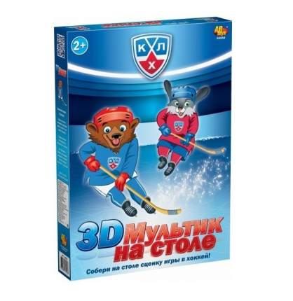 КХЛ 3D Мультик на столе