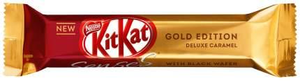 Шоколад KitKat Senses Gold Edition Duo Deluxe Caramel Белый с хрустящей вафлей 58г