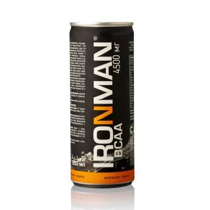 Напиток с bcaa Ironman BCAA, 250 мл, апельсин/манго