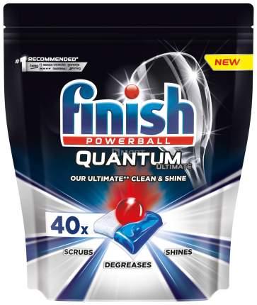 Таблетки для посудомоечных машин Finish Quantum Ultimate 40шт