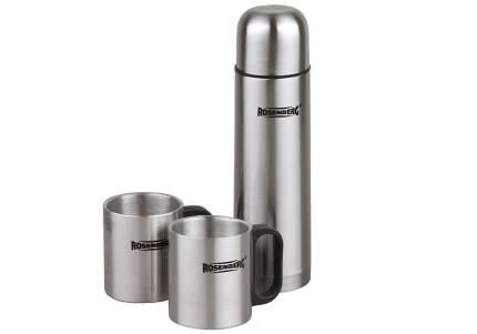 Подарочный набор: термос 500мл и 2 кружки 250мл Rosenberg RSS-420105
