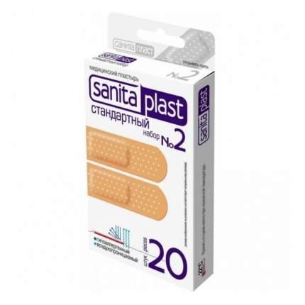 Пластырь Sanits plast Стандартный 2 20 шт.
