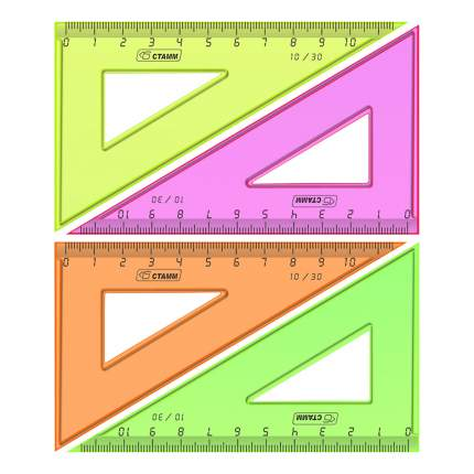 Треугольник Стамм Neon 10 см в ассортименте