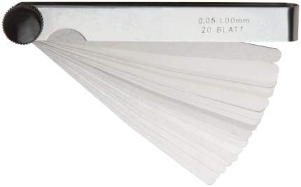 Щупы измерительные 20 шт, 0,05-1,00 мм 64980