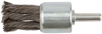 Корщетка-венчик, 28 мм, штифт, сталь FIT 38600