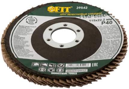 Круг лепестковый торцевой, 115 мм   Р 40 FIT 39542