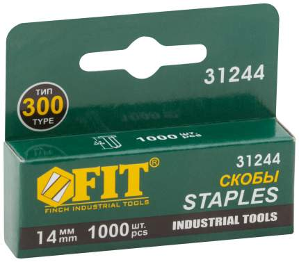 Скобы для электростеплера FIT 31244