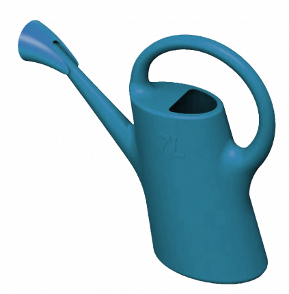 Лейка садовая Radivas G1-1-007 7 л голубой