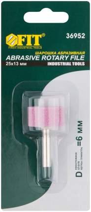 Шарошка абразивная по металлу, цилиндр 25 х 13 мм  FIT 36952