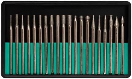 Шарошки с алмазным напылением, 20 шт. (малые) FIT 36485