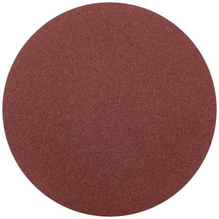 Круги шлифовальные сплошные (липучка), алюминий-оксидные, 125 мм, 5 шт, Р 80 КУРС 39774