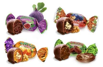 Микс Кремлина фрукты шоколадные с орехом 1000 г