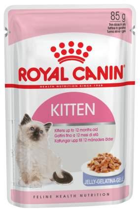 Влажный корм для котят ROYAL CANIN Kitten Instinctive, мясо в желе, 24шт, 85г