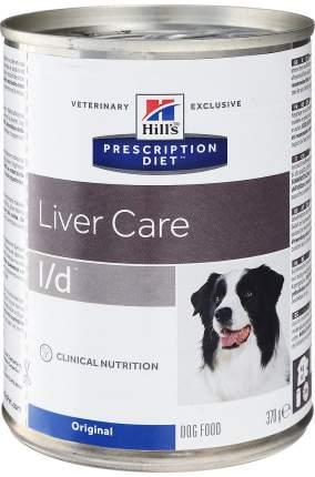 Консервы для собак Hill's Prescription Diet l/d, индейка, 6шт, 370г