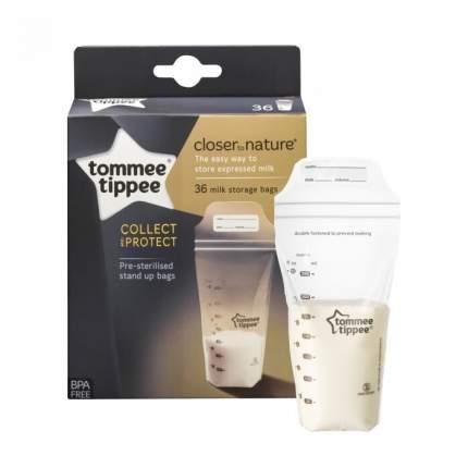 Пакеты для хранения грудного молока Tommee Tippee 350 мл, 36 шт.