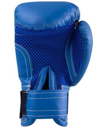 Rusco Набор для бокса 4oz, к/з, черный/синий