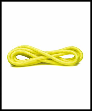 Amely Скакалка для художественной гимнастики RGJ-401, 3м, салатовый