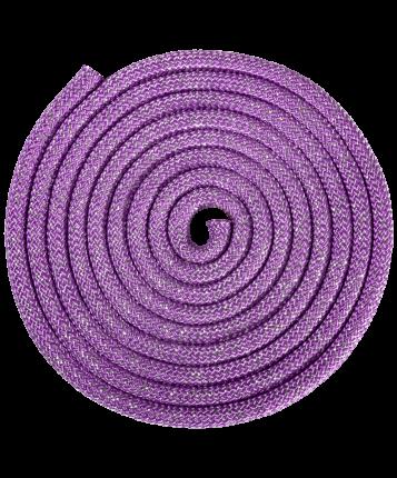 Скакалка гимнастическая Amely RGJ-403 300 см lilac