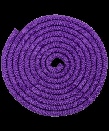 Amely Скакалка для художественной гимнастики RGJ-402, 3м, фиолетовый