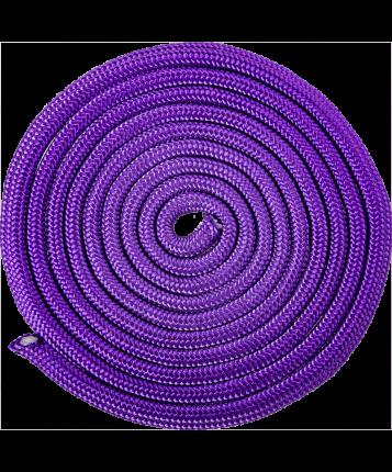 Amely Скакалка для художественной гимнастики RGJ-401, 3м, фиолетовый