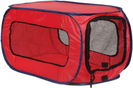 Домик для собак Kitty City Переносной, красный, черный, 66x38.1x38.1см