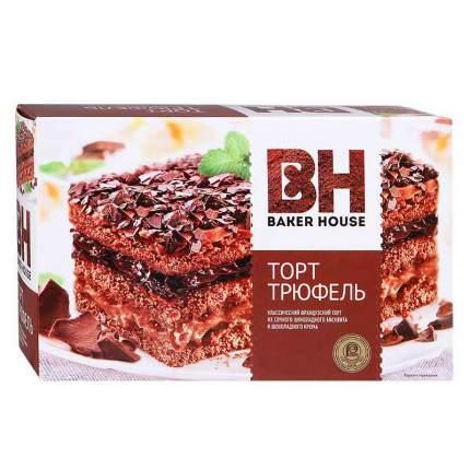 Торт бисквитный БЕЙКЕР ХАУС Трюфель350г*2 шт