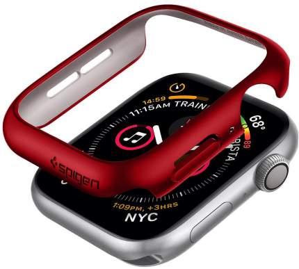 Чехол Spigen Thin Fit (ACS01066) для Apple Watch Series 4/5 44 mm (Red)