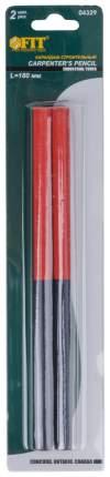 Карандаши строительные,  2-х цветные, 180 мм, 2 шт. FIT 04329