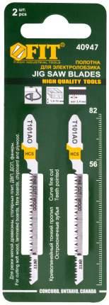 Пилки для лобзиков по дереву, 82/56/1,4 мм (Т101AO), 2 шт.  FIT 40947