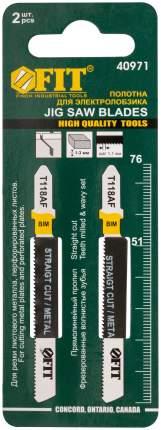 Пилки для лобзиков по металлу, 76/51/1,1 мм (T118AF), 2 шт. FIT 40971