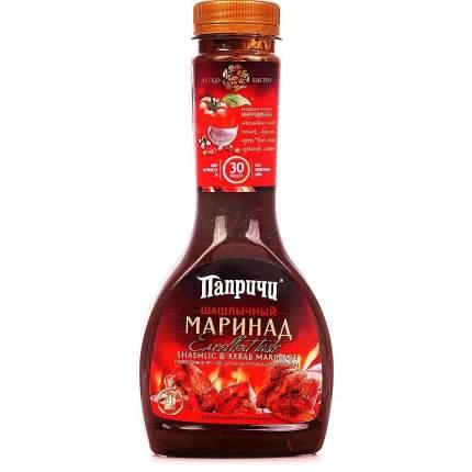 Маринад для шашлычный Paprichi пластмасовая бутылка 420гр