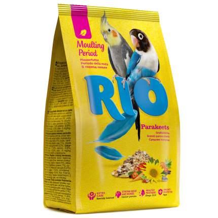 Корм для средних попугаев RIO Parakeets в период линьки, 500 г