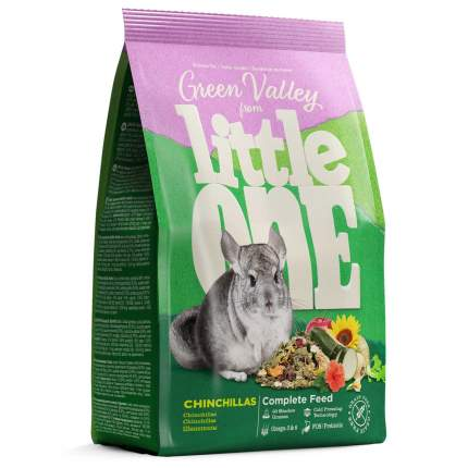 Корм для шиншилл Little One Green Valley, Зеленая долина, из разнотравья, 750г