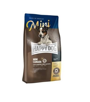 Сухой корм для собак Happy Dog Supreme Mini Canada, для мелких пород, рыба, 4кг