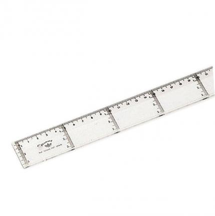 Domingo Ferrer Линейка прозрачная для параллельных линий, 40 см