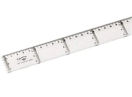Domingo Ferrer Линейка  прозрачная  для параллельных линий, 60 см
