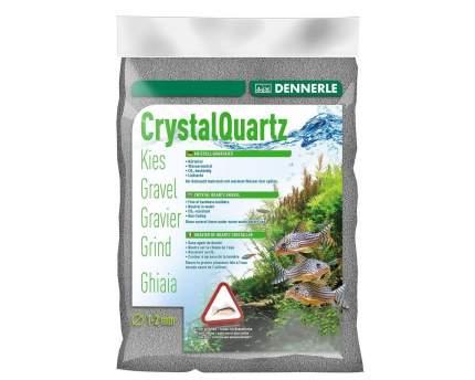 Грунт для аквариума Dennerle Color Quartz Gravel, светло-серый, 5кг