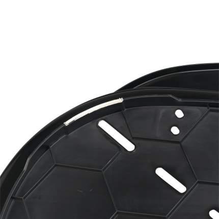 Лежанка для животных Ferplast SIESTA DELUXE 4, пластиковый, черный, 61,5х45х21,5 см