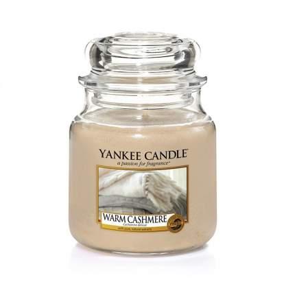 Свеча Yankee Candle Warm Cashmere Jar Candle